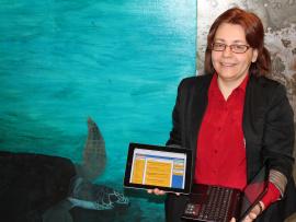 Chantal Desrosiers, responsable de l'équipe de travail et conseillère pédagogique TIC au Cégep de Trois-Rivières.