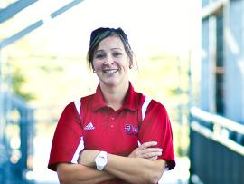 Geneviève Lacasse, présidente de l'Association du personnel.