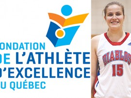 Frédéricke Laflamme, athlète Basketball Diablos.