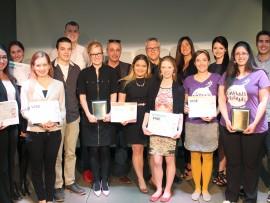 Les gagnants du concours entrepreneurial Vise dans le mille