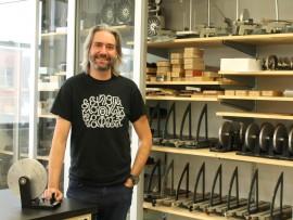 Mathieu Germain, enseignant de physique