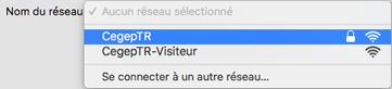 Wi-Fi Mac étape 3