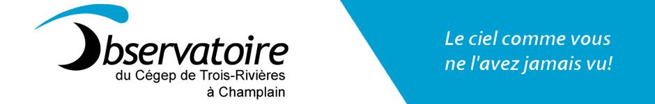 L'Observatoire du Cégep de Trois-Rivières Logo