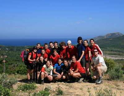 Le groupe 2010 du Club La Cordelle