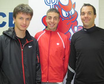Philippe Pinard et Étienne Lavoie-Trudeau et Pascal Dufresne