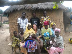 Jodie a été baptisée Noumuso Doumbia par sa famille d'accueil