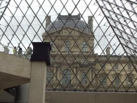 La verrière du Louvre
