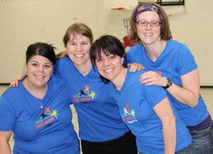 L'équipe du département de Diététique, porte-parole 2012.