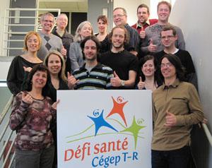 Les enseignants du département de Mathématiques, porte-parole 2010.