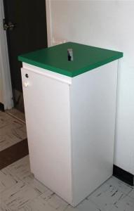 boite de récupération sécurisée