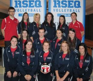 Équipe de volley feminines des diablos (2011)