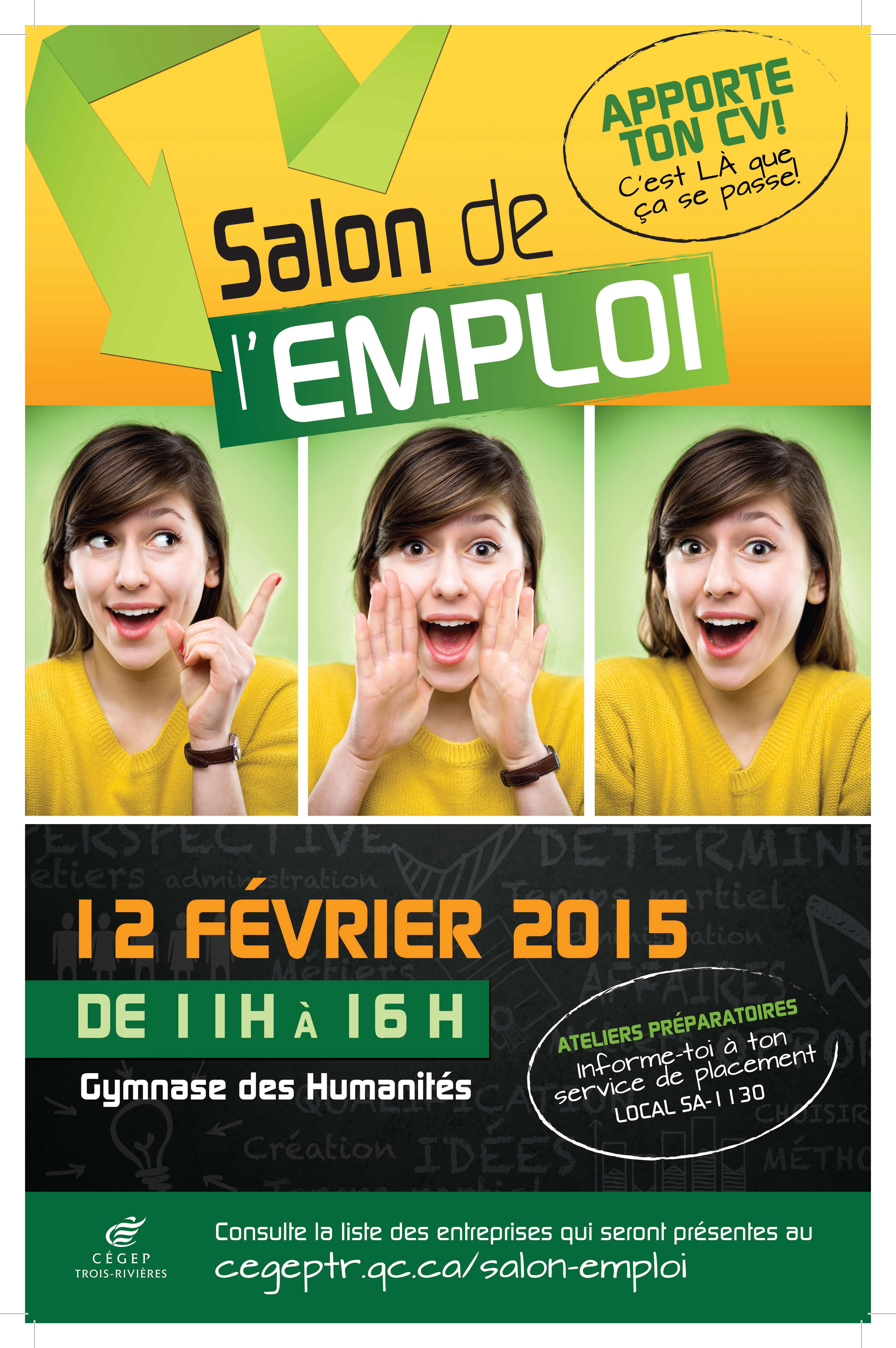 Un salon de l emploi exclusif la communaut tudiante for Salon de l emploi rennes