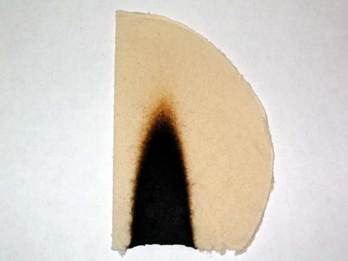 bois fibres phosphorylées