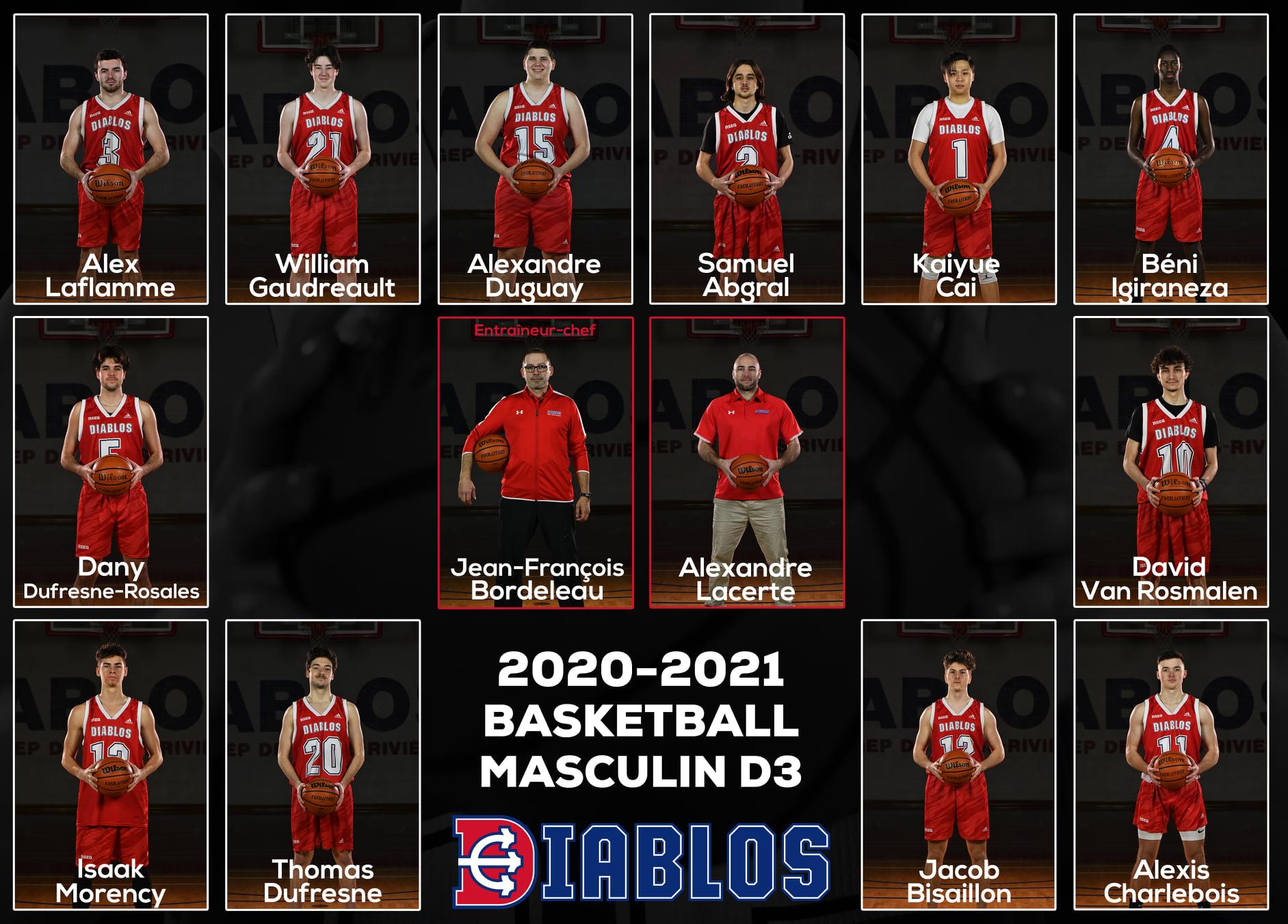 Équipe Diablos basketball D3